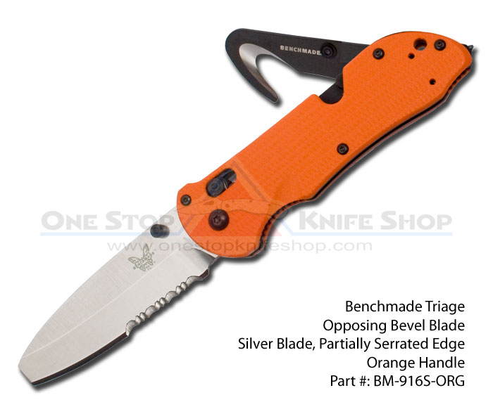 Discontinued Benchmade 916s Org Triage Opposing Bevel