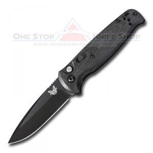 Benchmade 4300BK CLA Auto - Black Blade