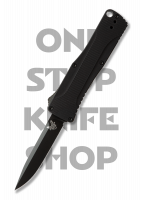 Benchmade 4850BK Om Double Action OTF Automatic - Black Blade