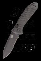 Benchmade 575SBK-1 Mini Presidio Ultra II - Black Serrated