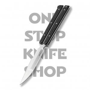 Boker Plus 06EX229 Balisong Tactical - D2 Blade, G10 Handle, Large