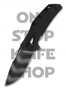Zero Tolerance 0308BLKTS KVT - Black Handle / Tiger Stripe Blade