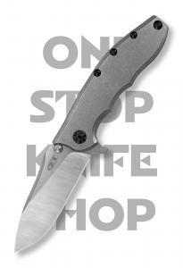 Zero Tolerance 0562TI Hinderer Slicer - Titanium Handle